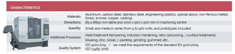 characteristics-machining-centers